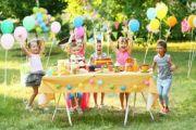 Anniversaire enfant extérieur - super idées jeux et déco