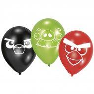 ballons anniversaire thème Angry Birds