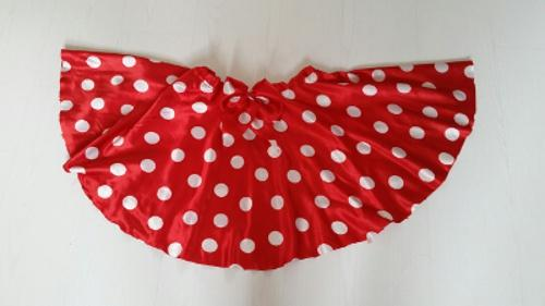 jupe minnie mouse noeud