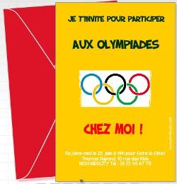 anniversaire olympiade les meilleures id es jeux olympique th mes anniversaires. Black Bedroom Furniture Sets. Home Design Ideas