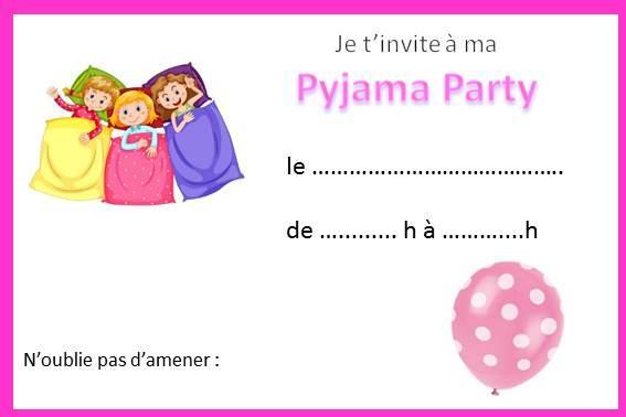 Gut bekannt Anniversaire Pyjama Party - idées déco jeux invitation | Thèmes  UJ18