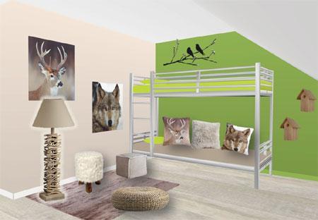 Deco chambre usa id es de d coration et de mobilier pour for Deco chambre d ado