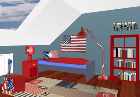 Idee deco chambre usa for Idee deco usa