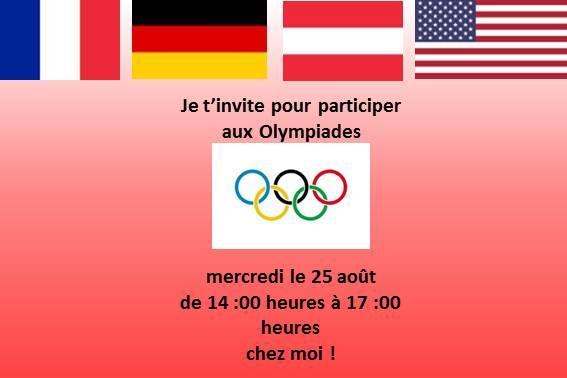 anniversaire olympiade les meilleures idées jeux olympique