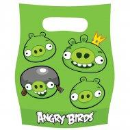 pochettes anniversaire thème Angry Birds