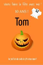 Anniversaire Halloween Invitation Deco Gateau Jeux Themes Anniversaires